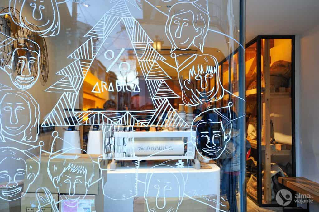 O que fazer em Kyoto: café Arabica, Higashiyama