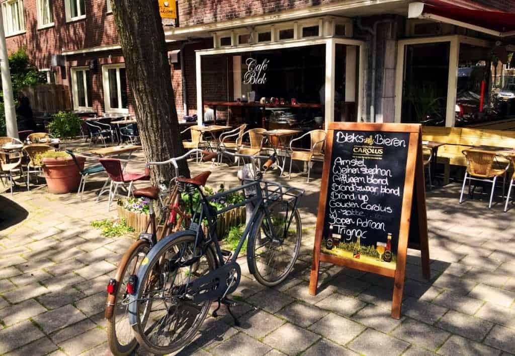 Cafe Blek, Amesterdão