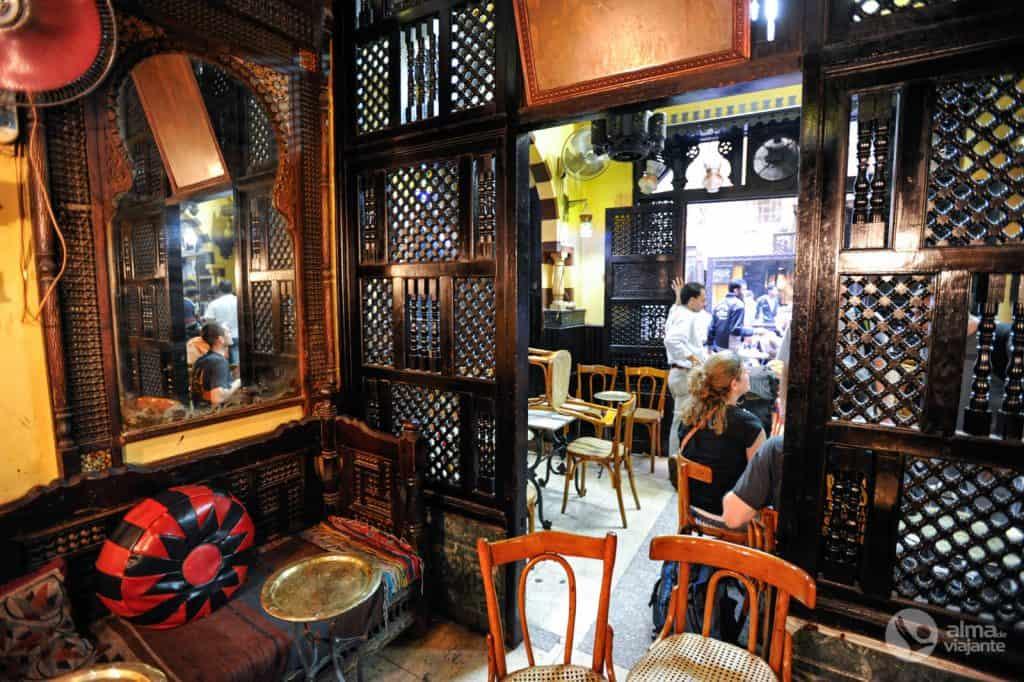 Café El Fishawy, no Bazar Khan al-Khalili, Cairo