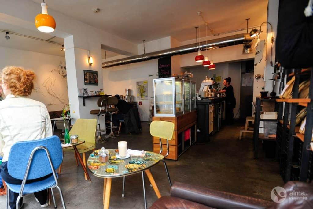 Heilandt, um dos melhores cafés de Colónia
