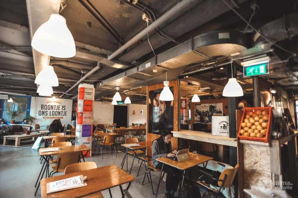 Café Heilige Boontjes Roterdão