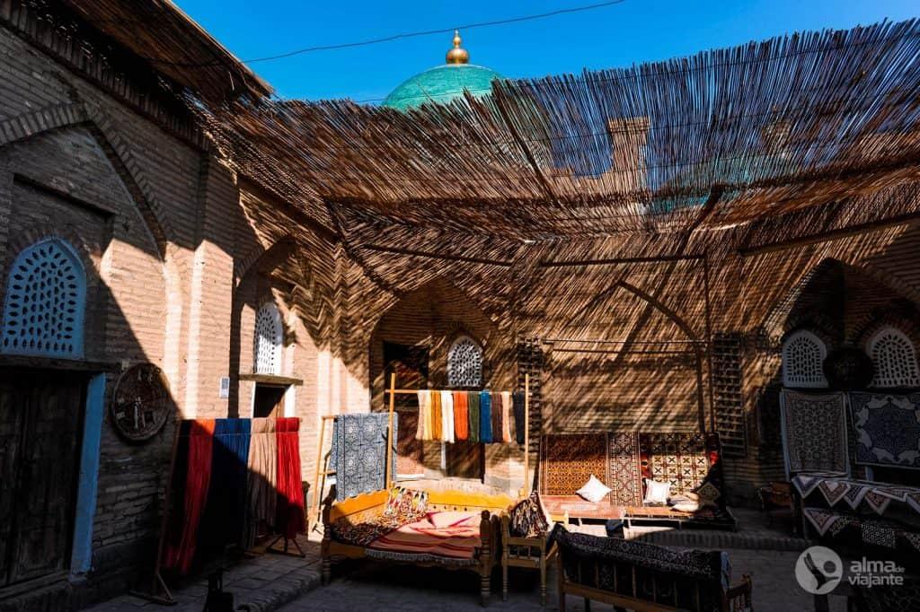 Cafés de Khiva