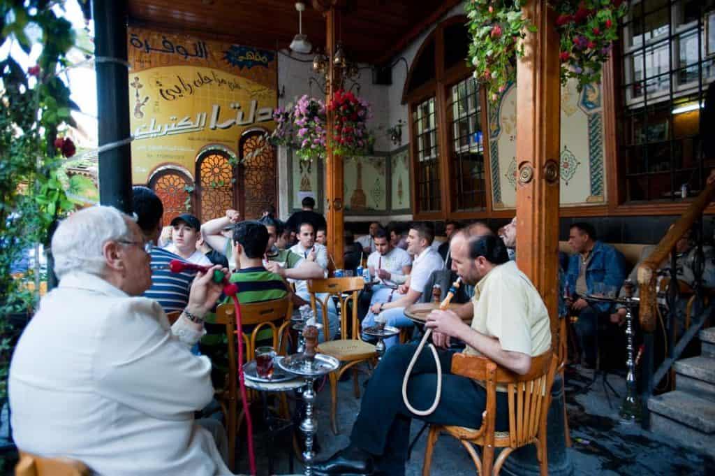 Café Al-Nawfara, Damasco