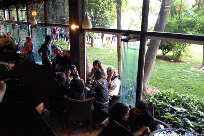 Home Café Teerão