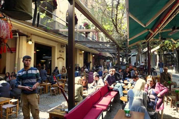 Narguile cafes em Istambul
