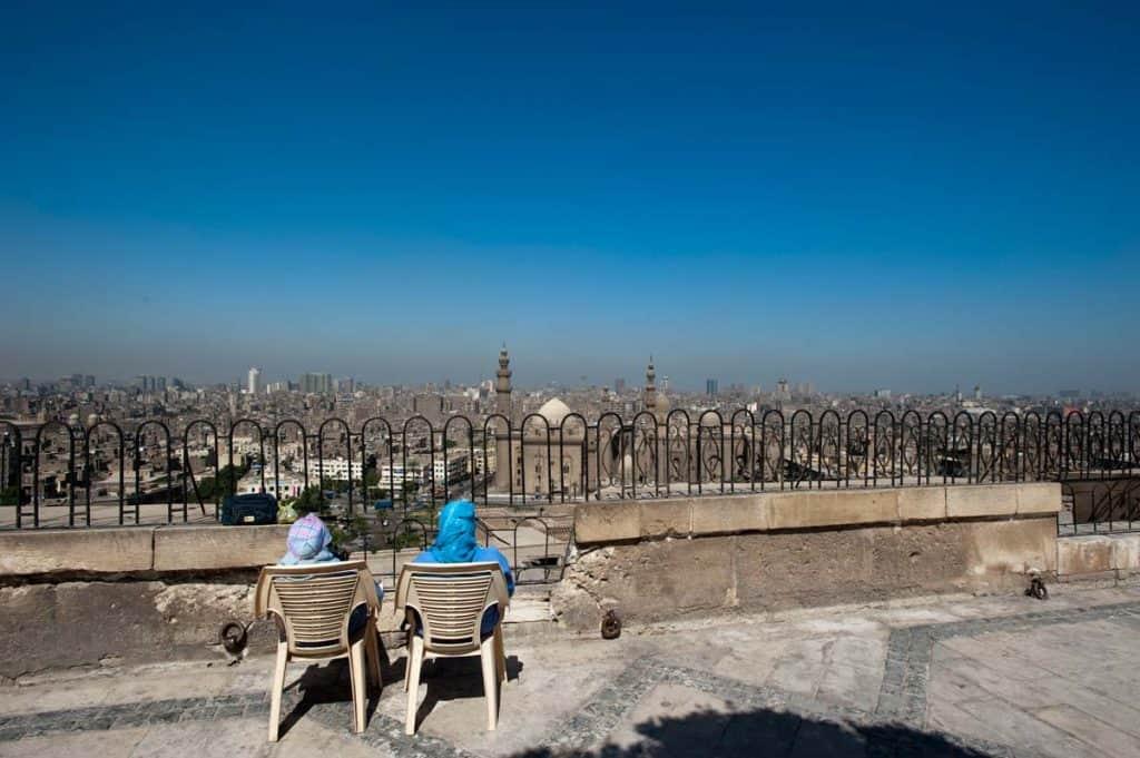 Vista sobre a cidade do Cairo