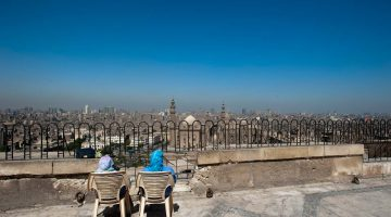 Udsigt over byen Cairo