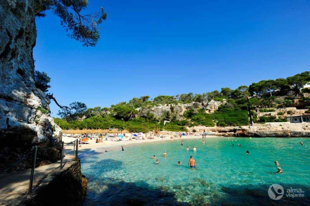 Geriausias Maljorkos paplūdimys: Cala Llombards