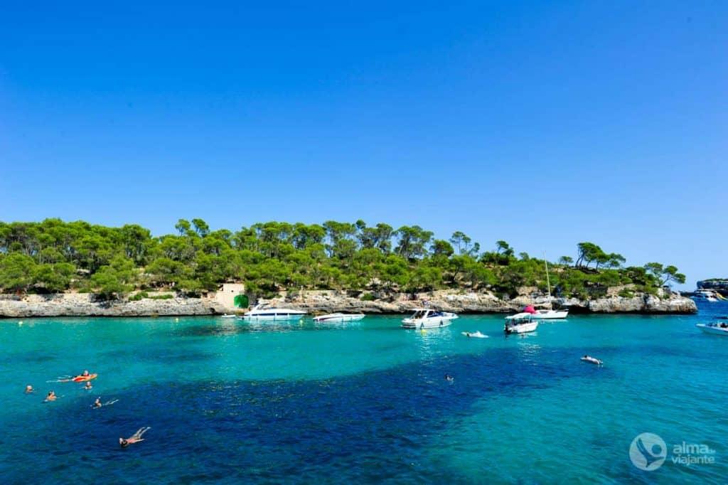 マヨルカ島のビーチ:CalaMondragó