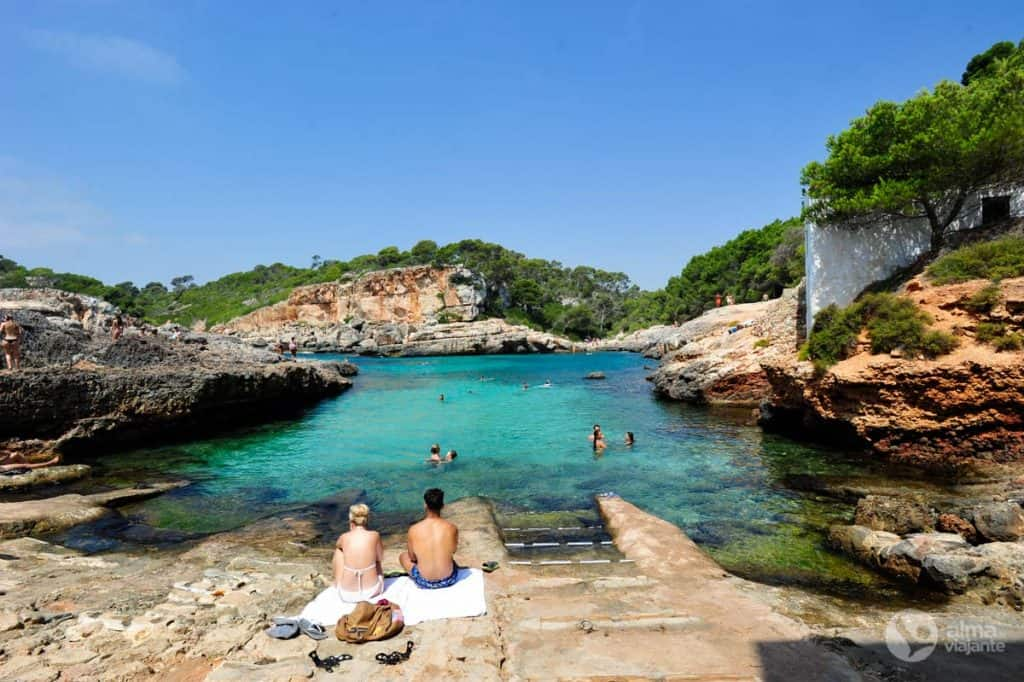 Geriausi Maljorkos paplūdimiai: Cala de s'Almunia