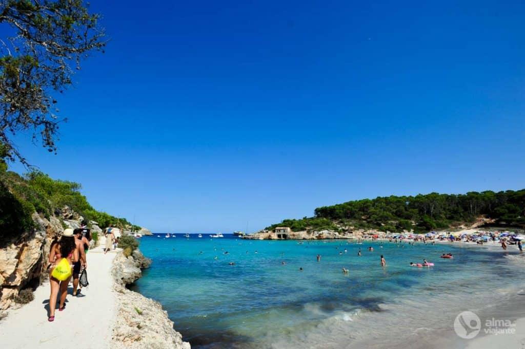 マヨルカ島の休日:Cala s'Amarador