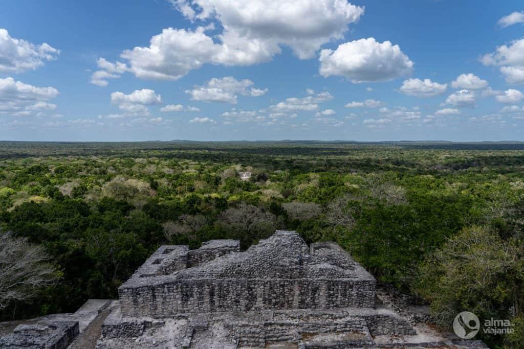 Ruínas de Calakmul, México