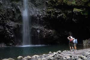 A levada do Caldeirão Verde, ilha da Madeira