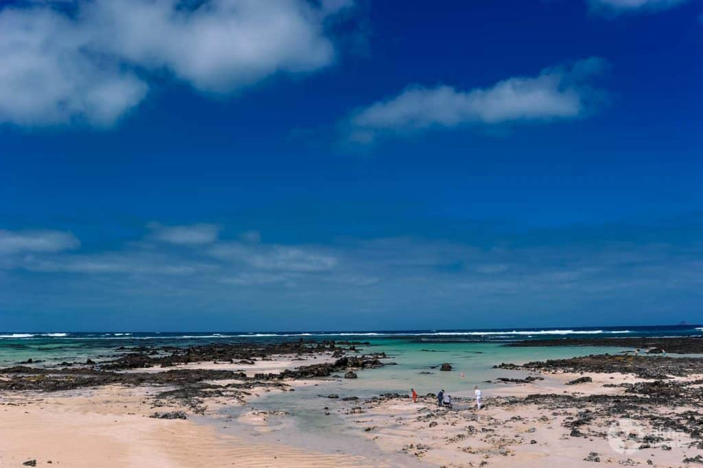 Best beaches in Lanzarote: Caleton Blanco