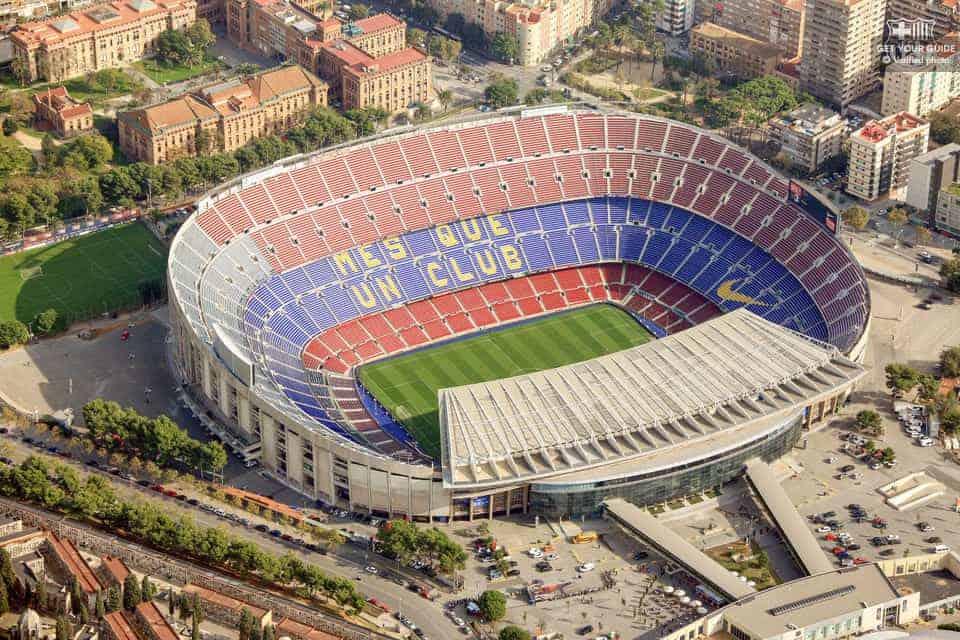 Estádio Camp Nou, Barcelona