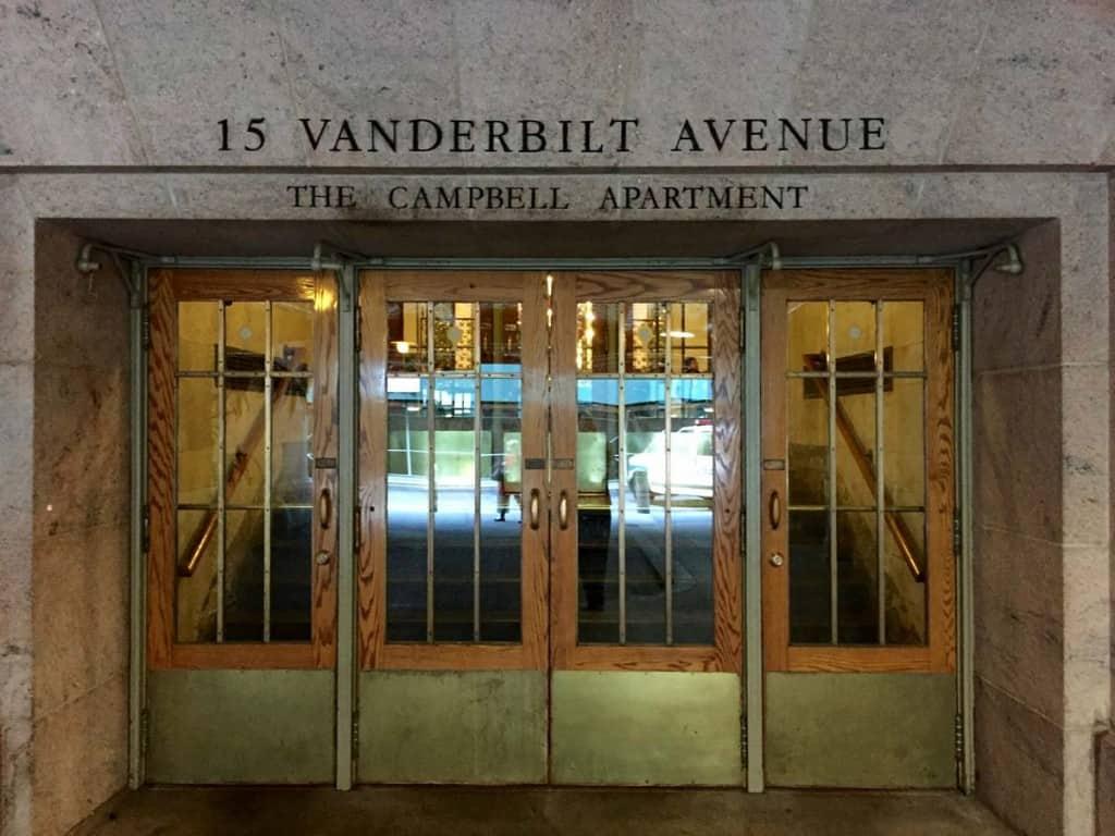 Viagem Nova York: Campbell Apartment