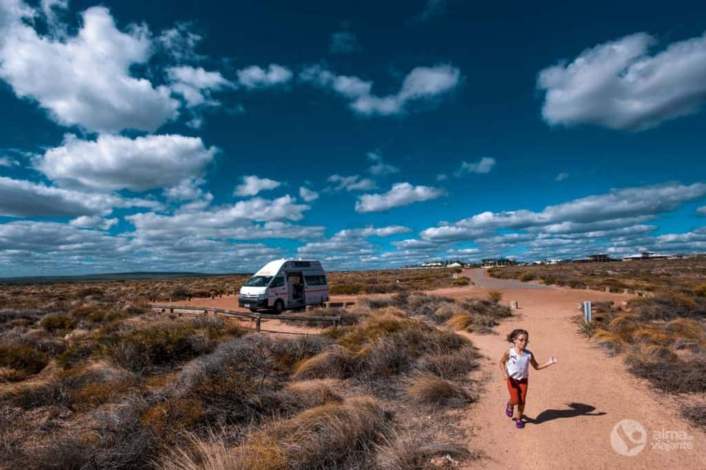 Autocaravana na Austrália