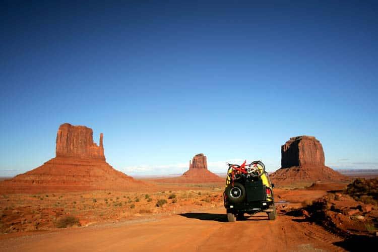 Campervan jeep