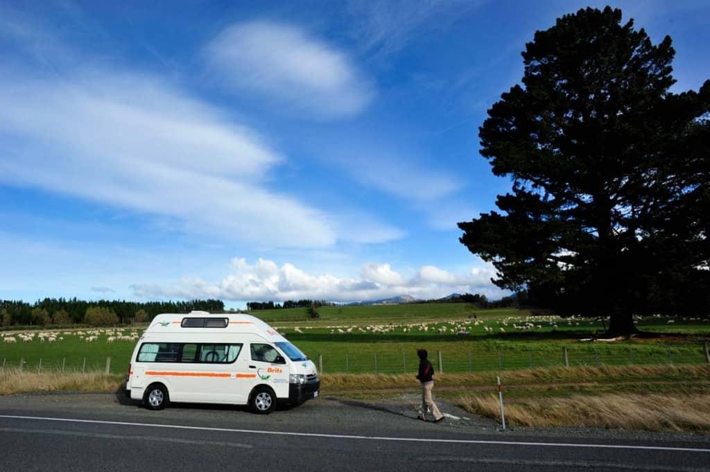Viajando de autocaravana na Nova Zelândia