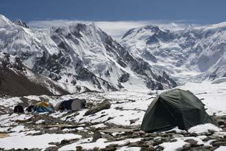 Campo-Base e monte Pobeda