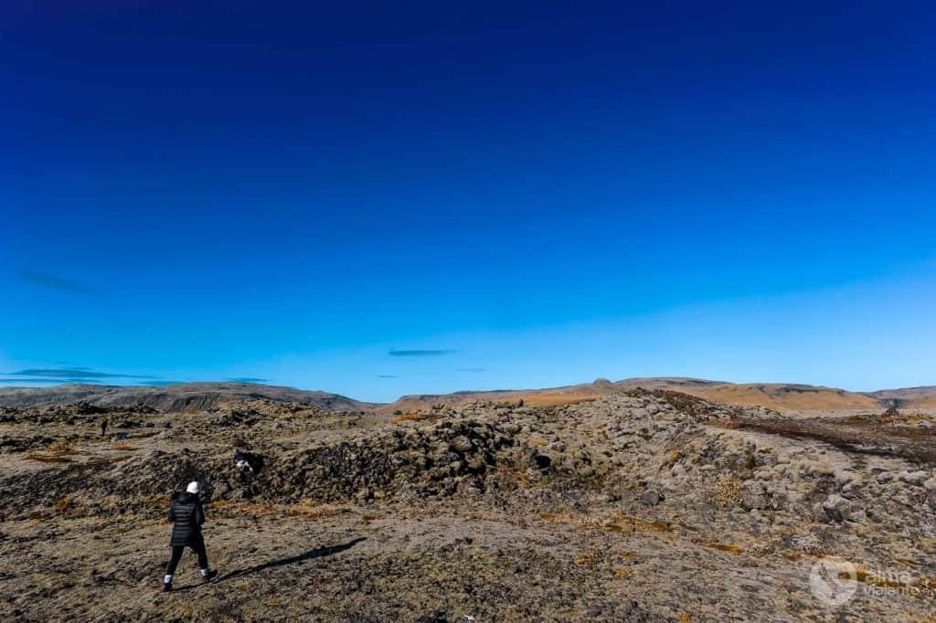 Campos de lava Islândia