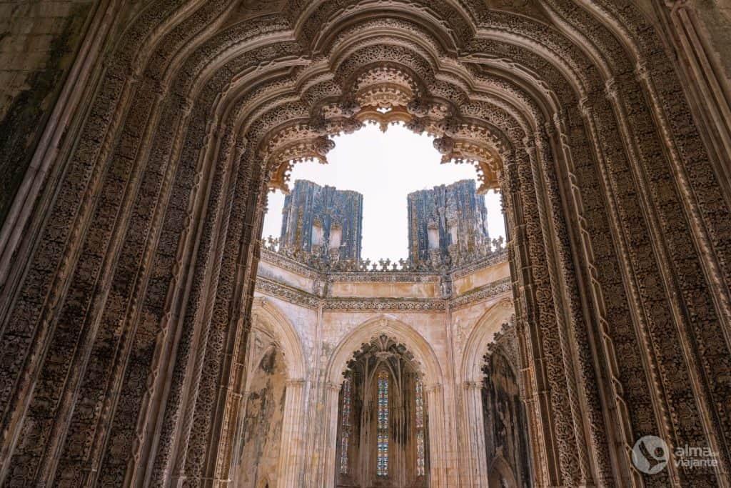 O que ver no Mosteiro da Batalha: Capelas Imperfeitas