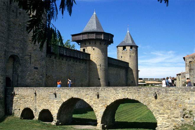 Carcassonne - innri vöktun