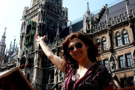 Carla Miranda em Munique