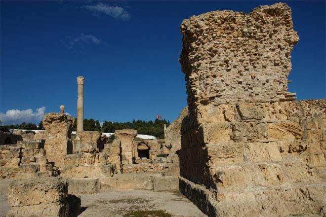 Rústir Carthage, Túnis