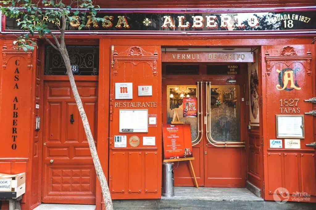 Onde comer tapas em Madrid: Casa Alberto