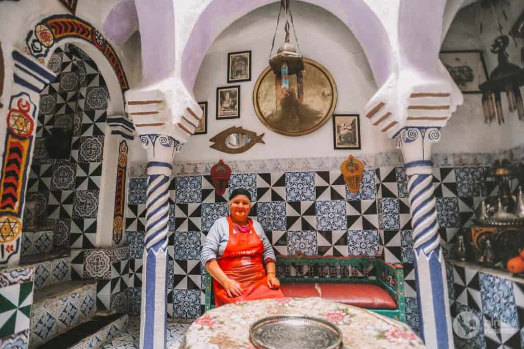 Dom v kasbah v Alžíri