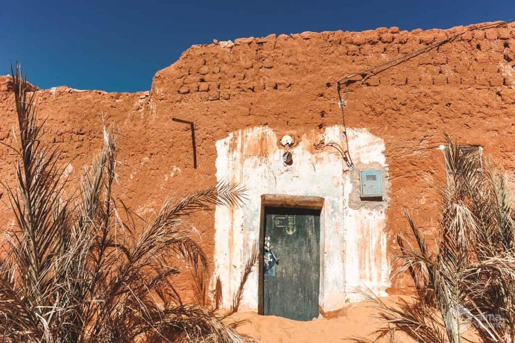 Casa abandonada nos arredores de Timimoun