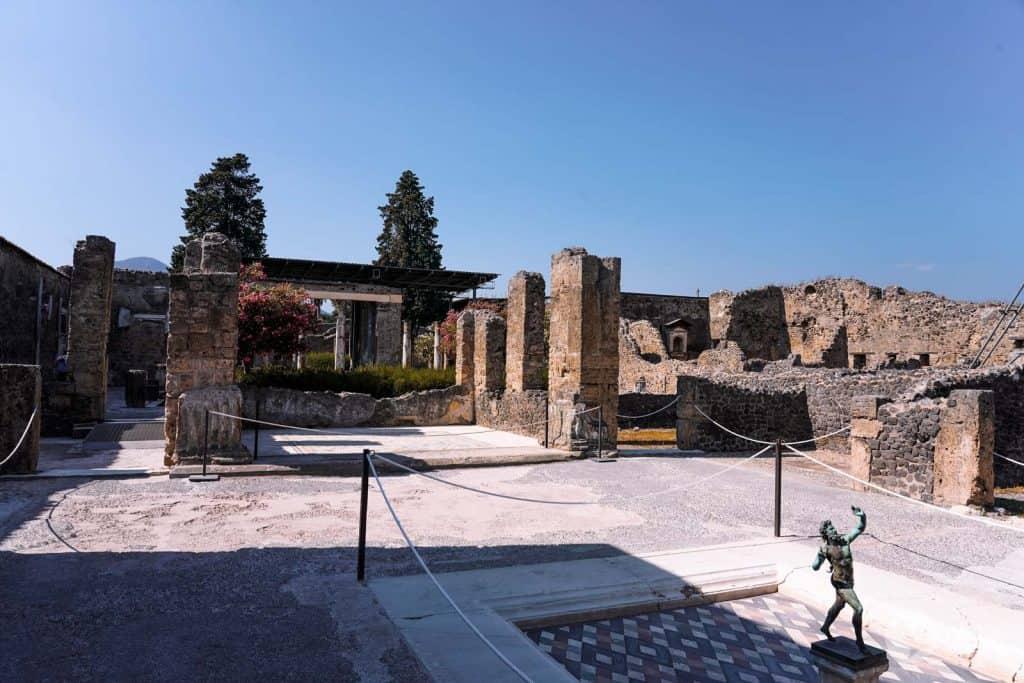 Casa do Fauno, Pompeia