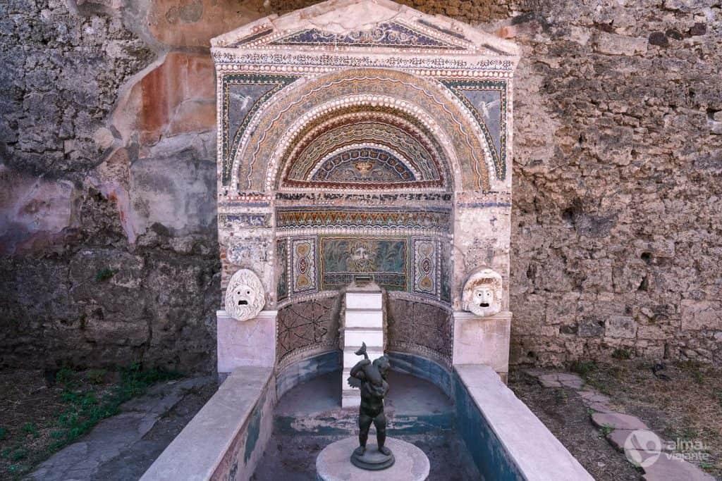 Roteiro em Pompeia: Casa da Fonte Grande
