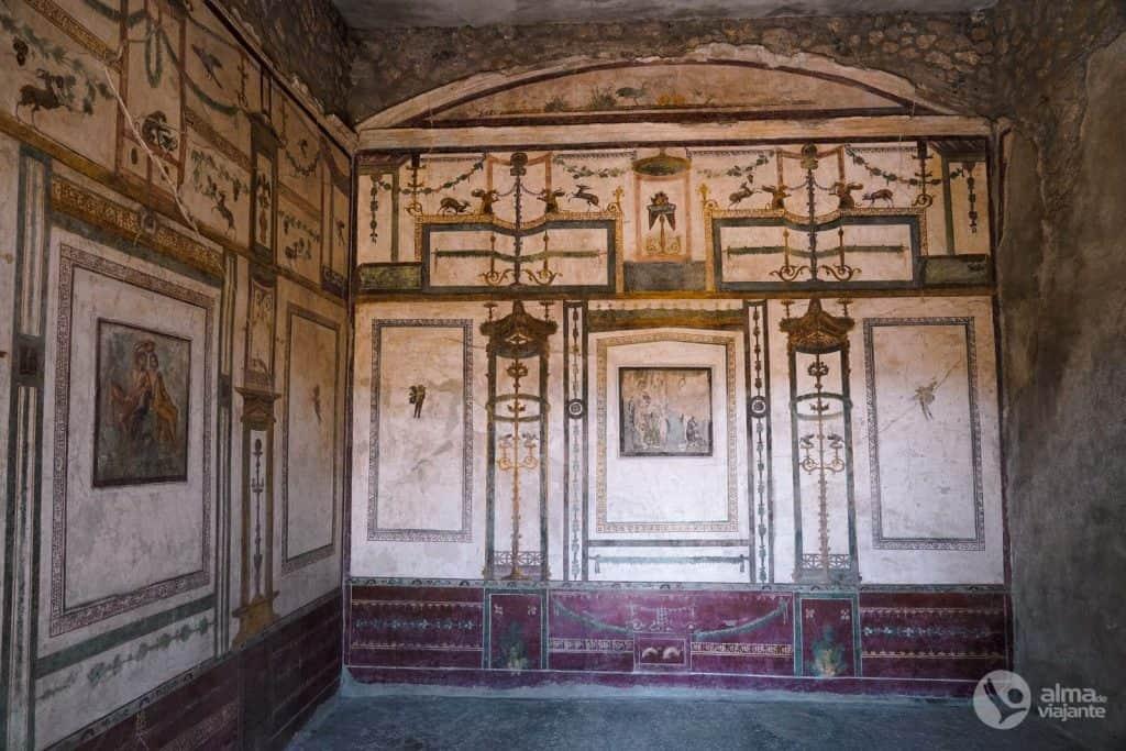 Casa do Príncipe de Nápoles, Pompeia
