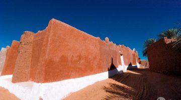 Timimoun, o oásis vermelho do deserto do Sahara