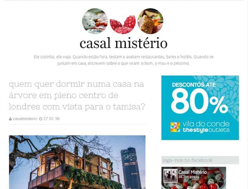 Blog Casal Mistério
