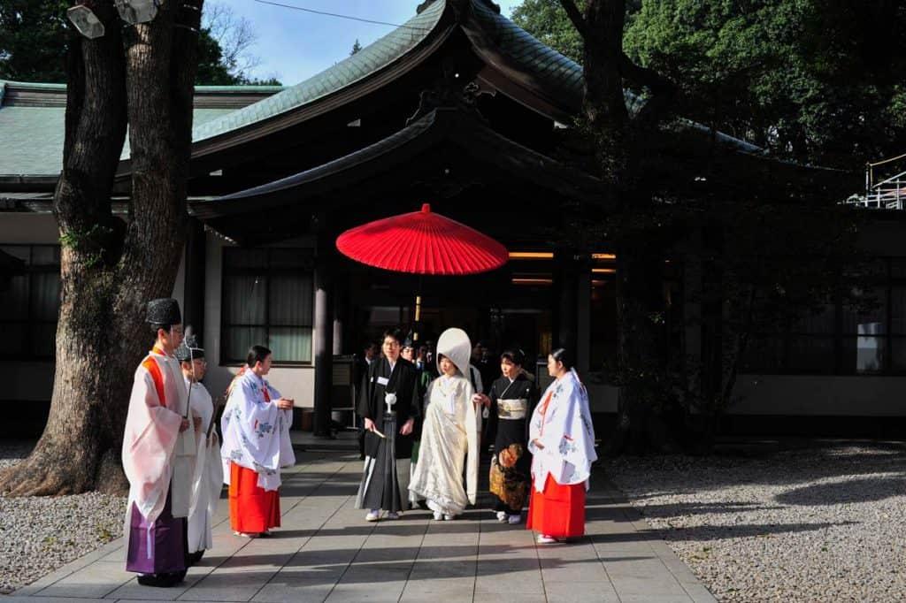 Casamento no Santuário Meiji, Tóquio