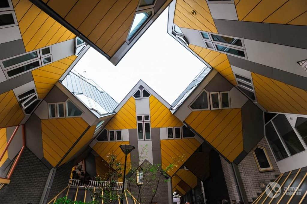 Casas cubo Roterdão