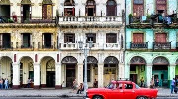 Casas particulares típicas de Havana