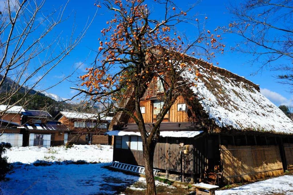 Arquitetura gassho-zukuri em Shirakawa-go