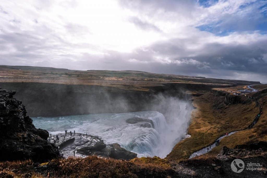 Gullfoss, Islândia