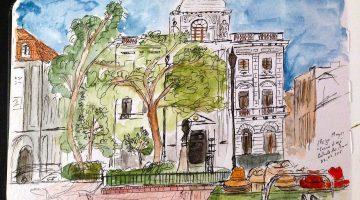 Casco Viejo (Cidade do Panamá) em sketchs