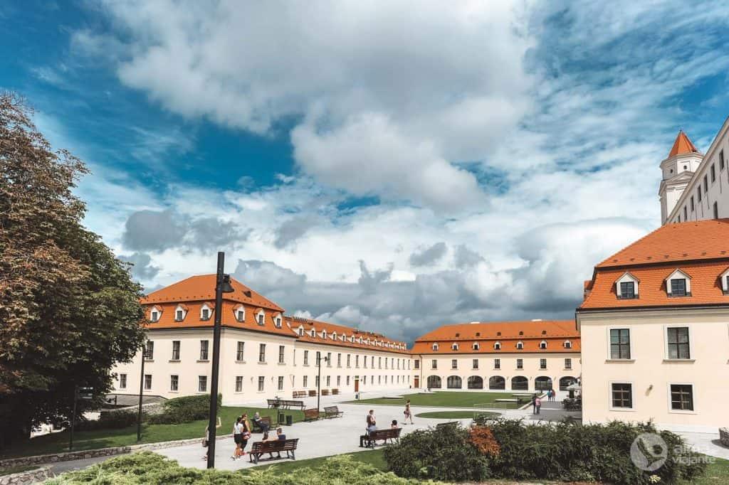 O que visitar em Bratislava: Castelo