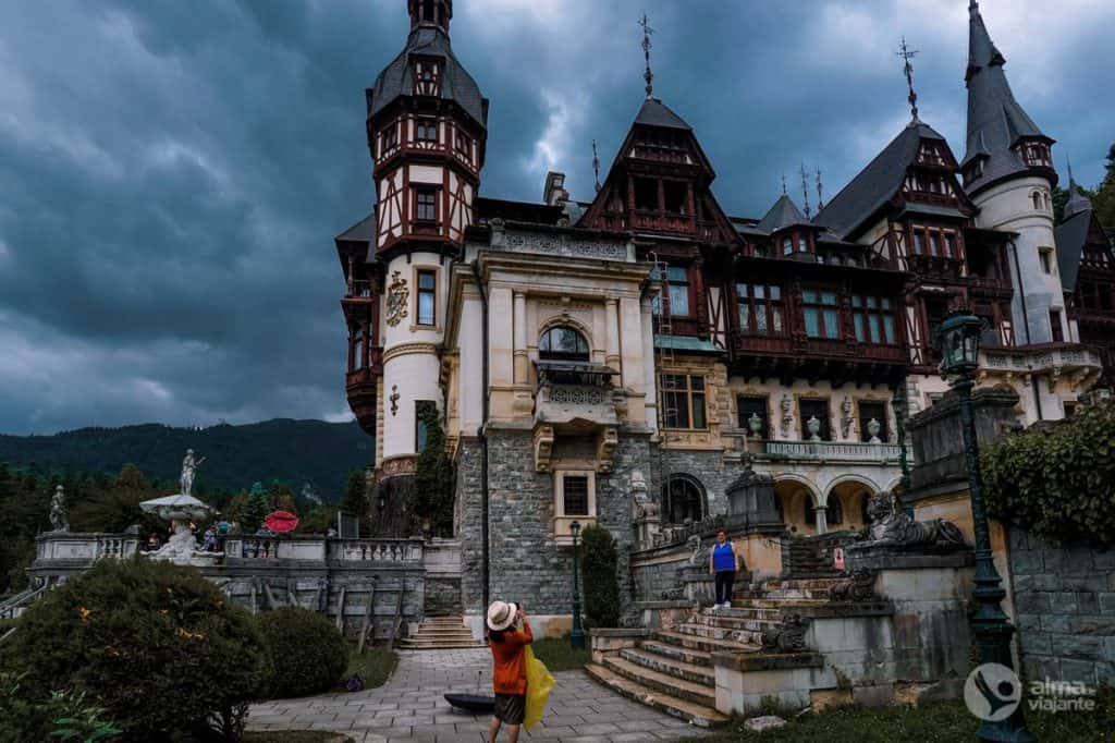 Roteiro Roménia: Castelos de Peles, em Sinaia