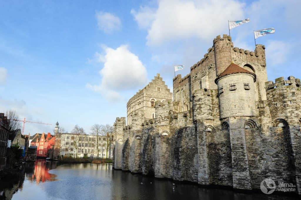 Roteiro de um da em Ghent: visitar o Castelo de Gravensteen