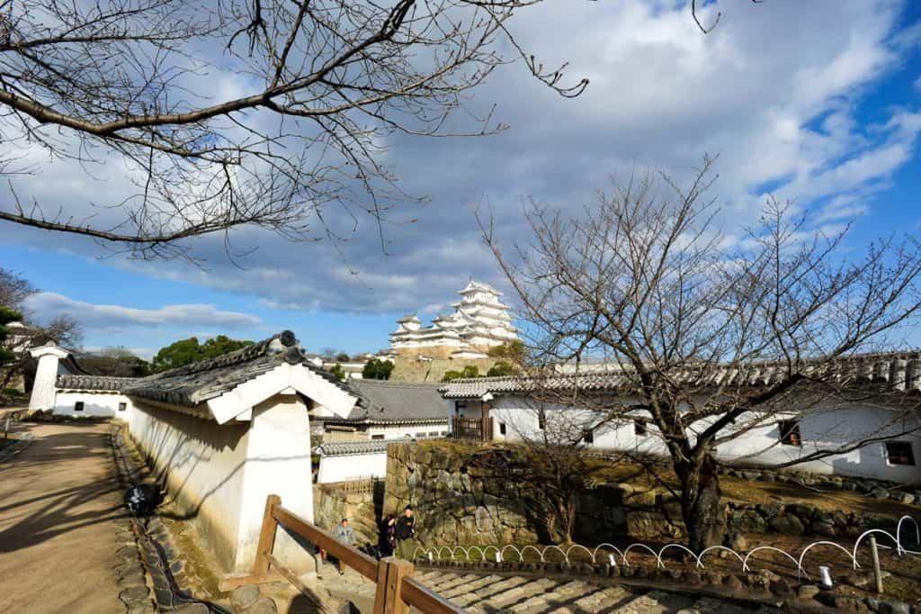 Himeji é um dos principais castelos japoneses