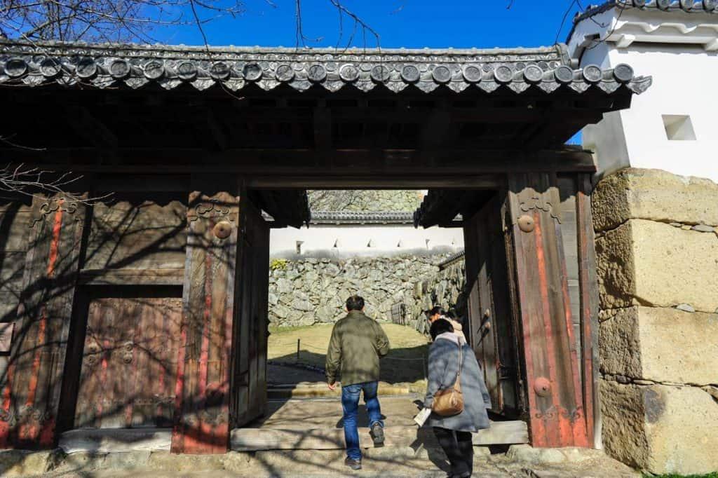 Portão de entrada no Castelo de himeji
