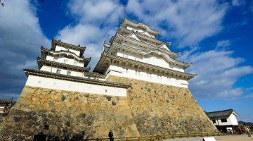 "Castelo de Himeji, a ""garça branca"" dos castelos japoneses"