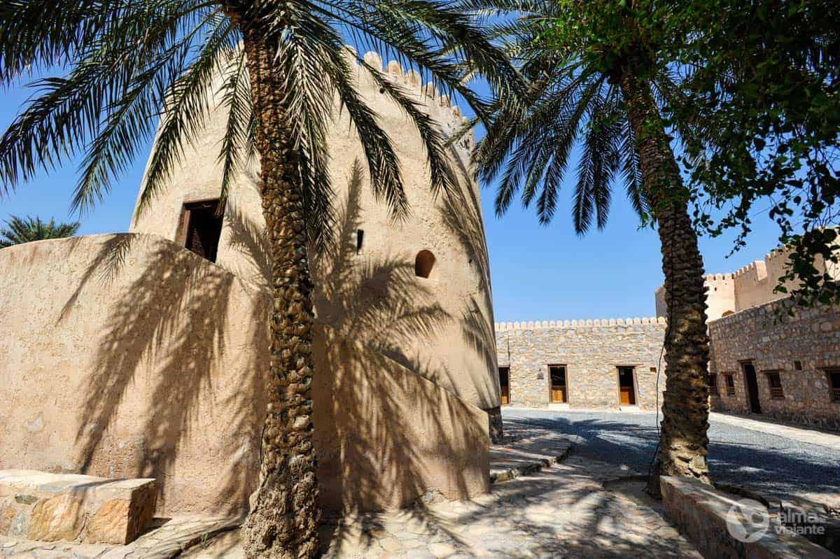 interior do castelo de Khasab
